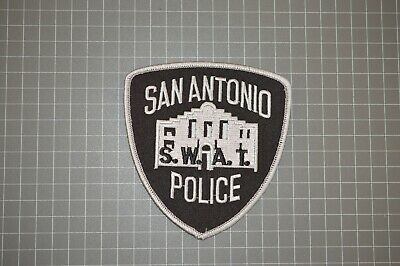 SAN ANTONIO POLICE Texas SWAT Patch (B17-SRT)