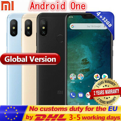 "Xiaomi Mi A2 5.99"" 4G Smartphone 4+32GO Android one Octa-Core 20MP Fingerprint"