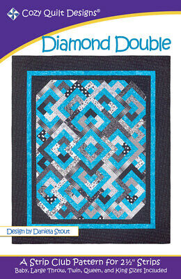 Diamond Double Quilt Pattern By Cozy Quilt Designs