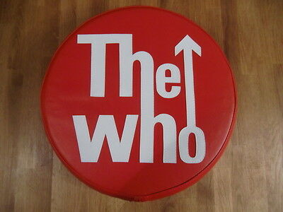 The Who in Red Scooter Wheel Cover