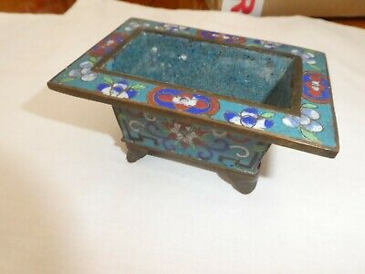 Unusual Cloisonne planter