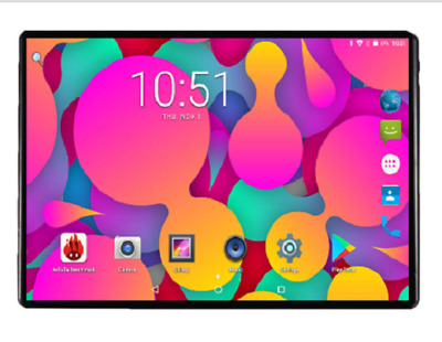 2019 TABLET 10 POLLICI 4GB RAM 64GB ROM Android 8.0 GPS Dual SIM 4G LTE Phone