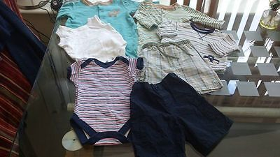 0 - 3 month Shorts Vest Baby Grows Baby Bundle John Lewis Adams Mothercare