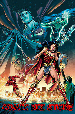 Justice League #18 (2019) 1St Printing Will Conrad Variant Cover Dc Universe