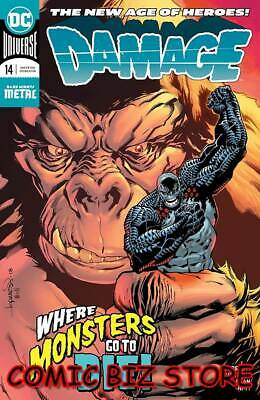 Damage #14 (2019) 1St Printing Dark Nights Metal Tie-In Dc Universe