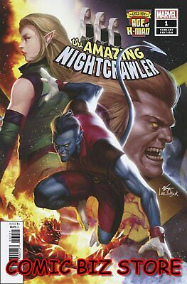 Age Of X-Man Amazing Nightcrawler #1 (Of 5) (2019) Lee Connecting Variant Cover