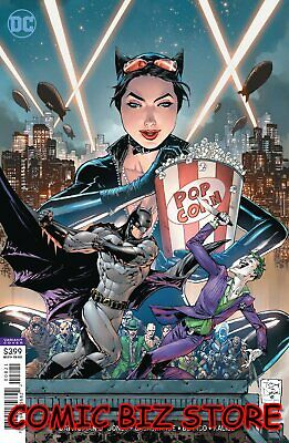 Catwoman #8 (2019) 1St Printing Tony S Daniels Variant Cover Dc Universe