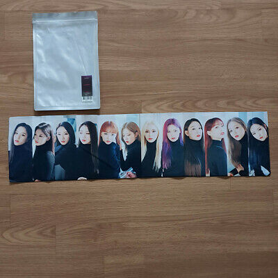 Slogan Official MD Loona Loonaverse Concert Monthly Girls Kpop Geunine