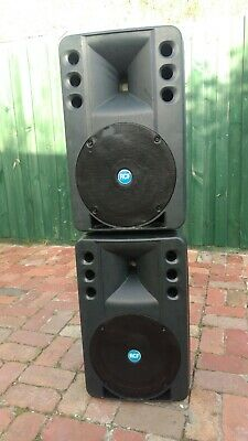 RCF Art 300 passive stage speakers