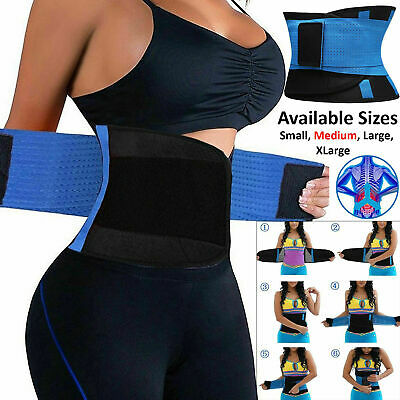 Waist Girdle Belt Sport Body Shaper Cincher Trainer Tummy Corset Belly Training