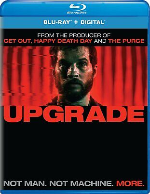 Upgrade Leigh Whannell Logan Marshall-Green Blu-ray Comedy Horror NEW