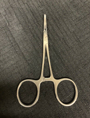V Mueller Op7551 Hartman Mosquito Curved Forcep