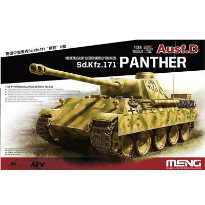 2019 Hot Sale Meng Model TS-038 1/35 Sd.Kfz.171 Panther Ausf.D Model kit New-