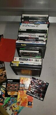 Lot of Mixed Video Game MANUALS, Instruction Booklets,cases Inc Super Mario Kart