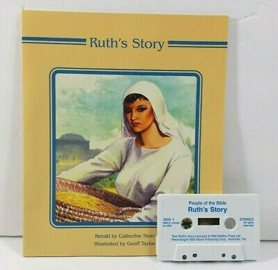 Bible Story Read Along with Cassette Ruths Story Illustrated 1988