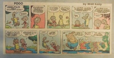 Pogo Sunday by Walt Kelly from 6/29/1958 Third Page Size!