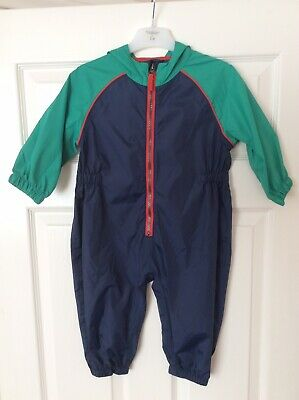 New Bluezoo Age 12-18 Month Waterproof Suit