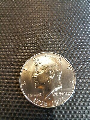 UNITED STATES 1976 KENNEDY SILVER HALF DOLLAR .200 years of freedom independence