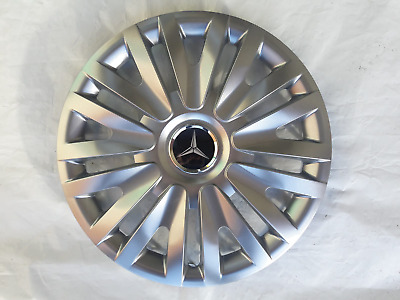 "To Fit 16"" Mercedes Vito Wheel Trims Hub Caps Brand New Set Of 4"