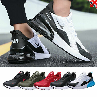 Mens Athletic Trainers Running Basketball Sports Shoes Absorbing Air Sneaker SZ