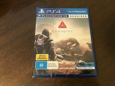 BRAND NEW SEALED Farpoint VR Sony Playstation 4 PS4 Game FAST POST AUS PSVR
