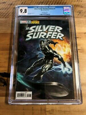 Silver Surfer: The Best Defense #1 CGC 9.8 - Skan Variant Cover - BEAUTIFUL!!!