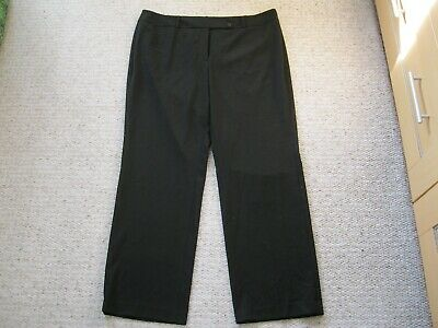 36f522ae021 Calvin Klein Women s Plus Size Fit Solutions Wide-Leg Black Trousers Size  16W