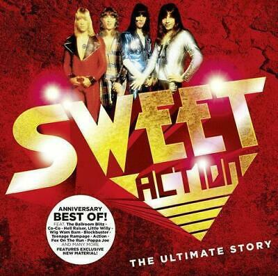 The Sweet - Action! - Ultimate Story - Best Of / Greatest Hits - 2CDs Neu & OVP