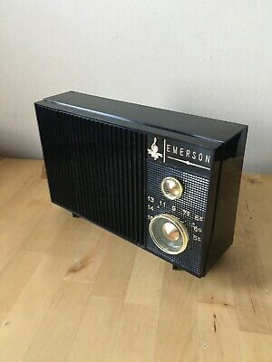 Emerson Tabletop Radio. Model 31T02. Working Perfectly. 1960