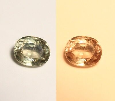 1.84ct Turkish Diaspore - Oval Cut Gem - Excellent Clarity