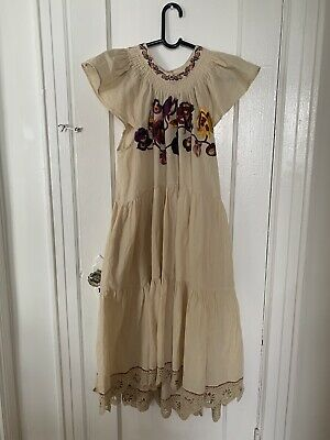 a39ac1a89 Ulla Johnson Pinar Dress Natural Size 8 Would Fit A 10 Brand New With Tag