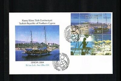 [HY111] 2004 - Europe CEPT FDC Turkish-Cyprus Mi.Bl. 22A