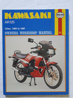 Service manual manuale officina Haynes Kawasaki AR 125 AR125