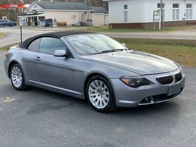 2005 BMW 6-Series  2005  BMW 645 CI CONVERTIBLE V8 AUTOMATIC