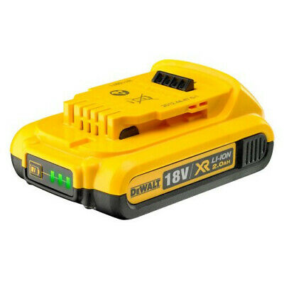 NEW Genuine Dewalt DCB183 18v 2.0Ah XR Li-Ion Battery.