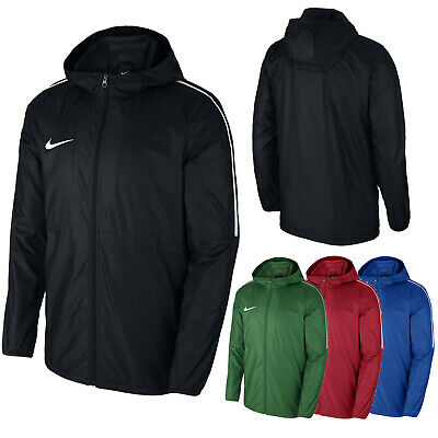 183d1ed512bcf6 Boys Nike Rain Jacket Waterproof Coat Sports Running Junior Youth Size S M  L XL