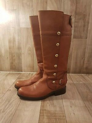 5a9e5996935 Steve Madden Olster Womens Size 7.5 M Leather Boots Back Zip Vintage  Distress