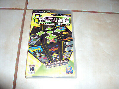 Midway Arcade Treasures: Extended Play (Sony PSP, 2005)
