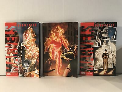 Marvels Annotated #1 Set of 3 Alex Ross