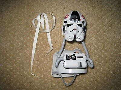 Sideshow 1:6 scale Imperial AT-AT Driver figure helmet and chest armor armour
