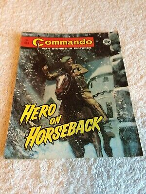 Early High Grade Early  Commando Comic Number 613 Very Rare