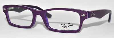 3e790af687f New Eyeglasses Kid s Ray Ban Rb1530 3589 Violet On Violet Transparent 48-16 -125