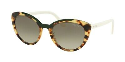 04500ae081ac PRADA ULTRAVOX EVOLUTION PR 02VS Blonde Havana Green/Green Shaded Sunglasses