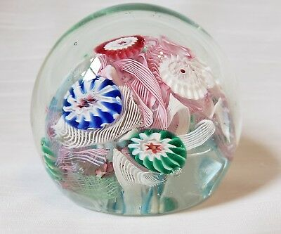 Hand blown glass paperweight