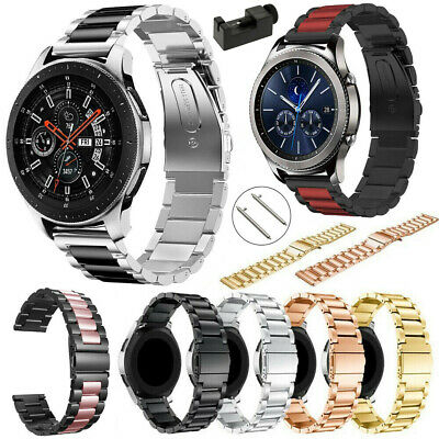 Stainless Steel Band For Samsung Galaxy Watch 42/46mm Active Gear S3 Sport Strap