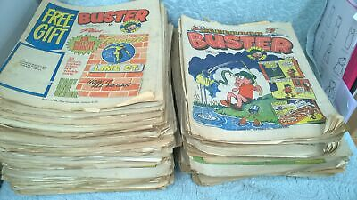 Vintage Collection Job Lot Of 'Buster' Comics 70's 80's #150