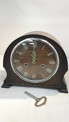 Mantel Clock SMITHS ENFIELD WESTMINSTER  STRIKING with Key #269