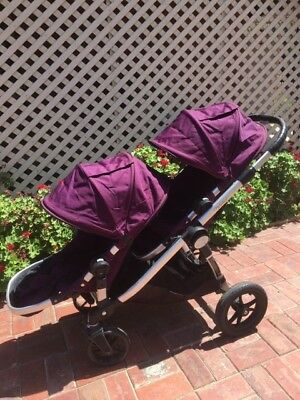 Double Stroller pram Baby Jogger City Select