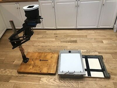 Large Leitz Focomat 2 Germany Wetzlar Autofocus Enlarger Camera  Photography