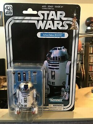 Unopened Star Wars The Black Series 40th Anniversary A New Hope R2-D2 Figure